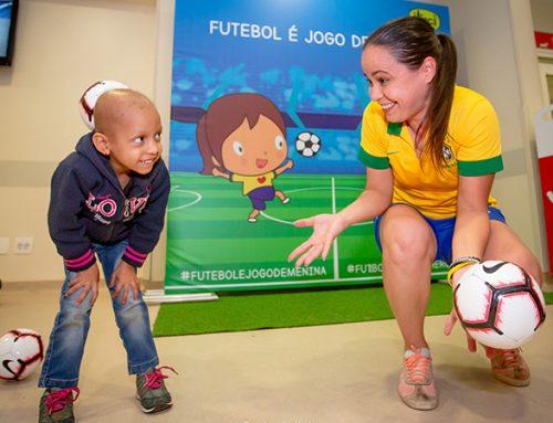 Esporte é jogo de menina 2019 – ITACI